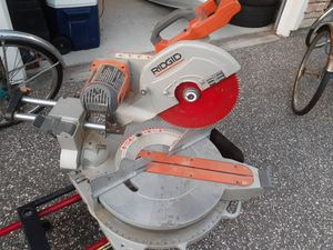 """Ridgid miter saw 12"""" for Sale in Clearwater, FL"""