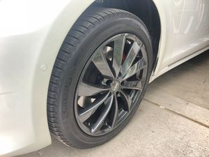 "Tesla Model S Gunmetal Gray 19"" Winter Tires (Set of 4) for Sale in Denver, CO"