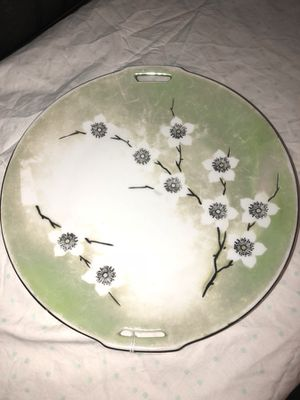 RS Germany cake serving platter hand painted vintage antique Titusville for Sale in Mims, FL