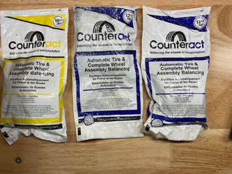 COUNTER ACT TIRE BALANCING BEADS for Sale in Hanover Park,  IL