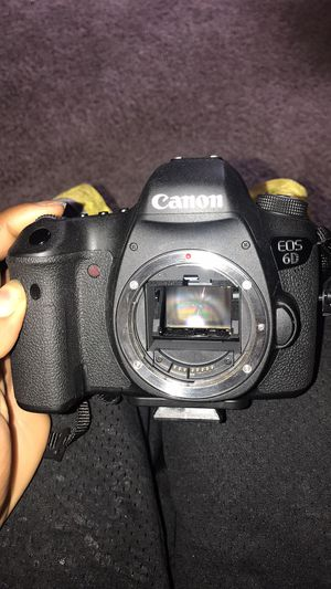 Cannon 6D (body only) for Sale in Evansville, IN
