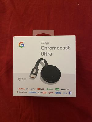 Google chromecast Ultra 4K for Sale in New Haven, CT