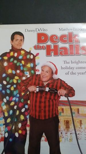 Deck the Halls DVD featuring Danny DeVito and Matthew Broderick for Sale in Sprouses Corner, VA