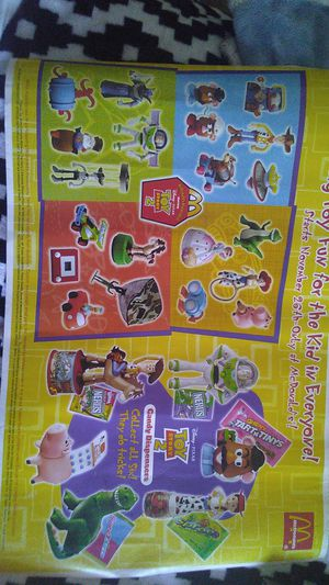 The Release of Disney/Pixar's TOY STORY 2 Poster Collection (COMPLETE) for Sale in Mableton, GA