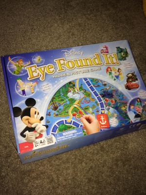 Eye Found It! Disney board game for Sale in Hillsboro, OR