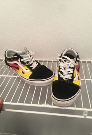 """Vans """"Flames""""- Size 9.5 for Sale in Lutz, FL"""