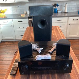 Pioneer Home Audio Surround Sound System With Receiver for Sale in Gilbert, AZ
