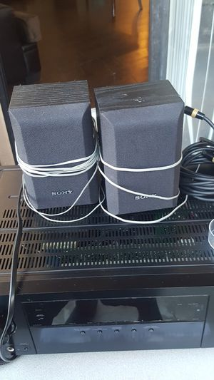 Pioneer Reciever/Sony Speakers for Sale in Fontana, CA
