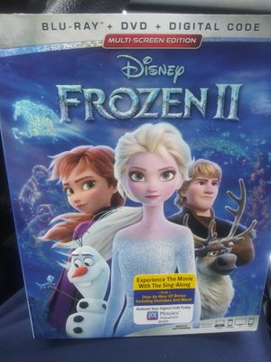 Frozen 2 bluray dvd and digital for Sale in Chicago, IL