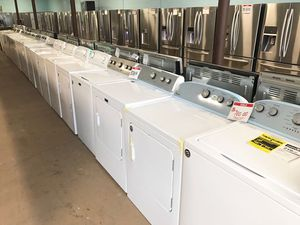 Variety of washer and dryer unit 90 days warranty for Sale in Garrison, MD