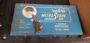 Handy Andy Microscope case mid century for Sale in Bremerton, WA