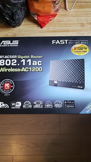 Asus RT-AC56R 802.11AC Gigabit Router for Sale in San Diego, CA