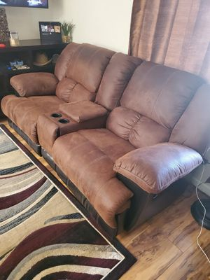Two leather recliner couches for Sale in Arvada, CO