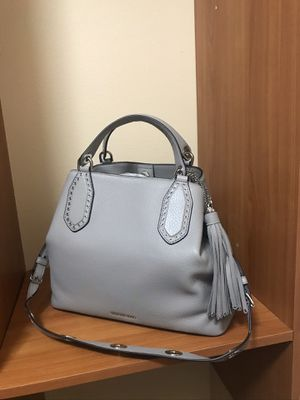 P/P BRAND NEW GREY GRAY MICHAEL KORS AUTHENTIC Brooklyn Large Leather Satchel for Sale in Tukwila, WA