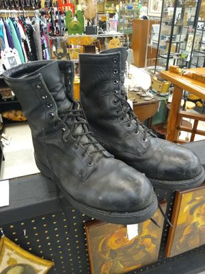 Addison Steel Toe Combat / Work Boots Men's Size 9 W for Sale in Portland, OR