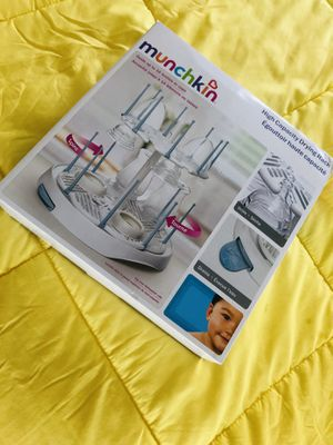 Baby stuff , muchkin drying rack for Sale in Downey, CA