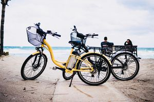 2 Electric Beach Bicycles for Sale in HALNDLE BCH, FL