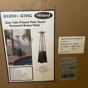 """Hiland 87"""" Pyramid Propane Patio Heater Hammered Bronze for Sale in Fort Worth, TX"""