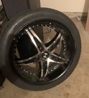 Set of 4 Rims 18 inch rims for Sale in Dallas, TX