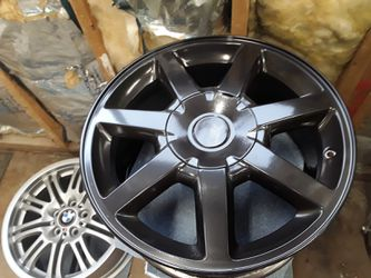 4 Cadillac OEM Rims Black Chrome for Sale in Puyallup,  WA