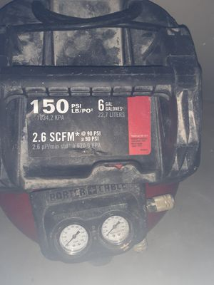 Porter Cable Portable Electric Pancake Air Compressor for Sale in Snellville, GA