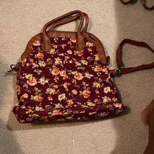 Flowered Purse for Sale in Peoria, IL