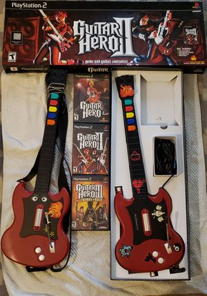 Playstation 2 guitar set for Sale in Portland, OR