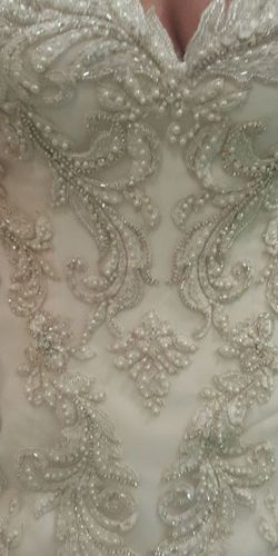 Couture!!!! Sottero & Midgely Swarovski Encrusted Satin Wedding Gown for Sale in Tampa,  FL