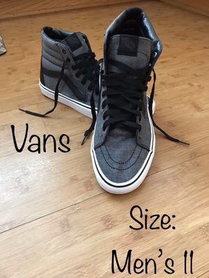 Like New Men's Hightop Vans for Sale in Chula Vista, CA