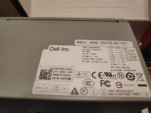 Dell 8300/8500/8700 power supply 385W for Sale in Los Angeles, CA