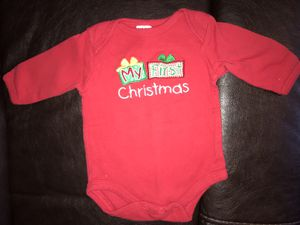 My First Christmas onesie, size 3 mo for Sale in Rustburg, VA