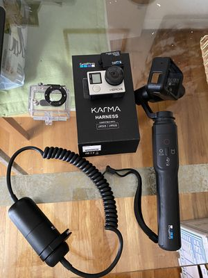 GoPro Hero 4 Bundle (Karma Grip, Extension, Harness, extra battery, + accessories for Sale in Falls Church, VA