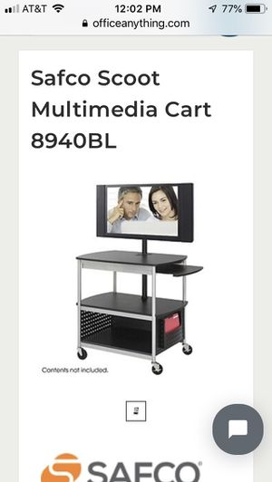 Multimedia TV Cart ( New) for Sale in Miami, FL