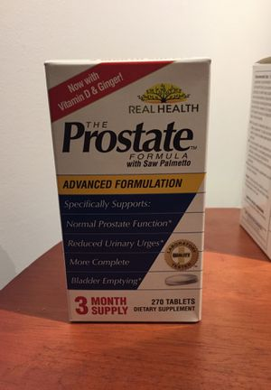 The prostate formula with saw palmetto for Sale in Chicago, IL