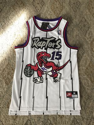 Brand new white Toronto raptors jerseys Vince carter Nike for Sale in Fountain Valley, CA