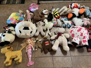 Stuffed animal toy lot for Sale in La Mesa, CA