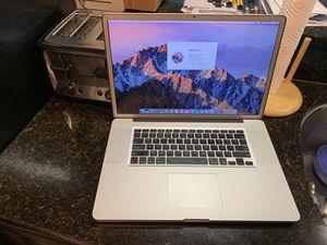 """2011 17"""" Macbook Pro i7 16gb 750gb for Sale in Vernon Hills, IL"""