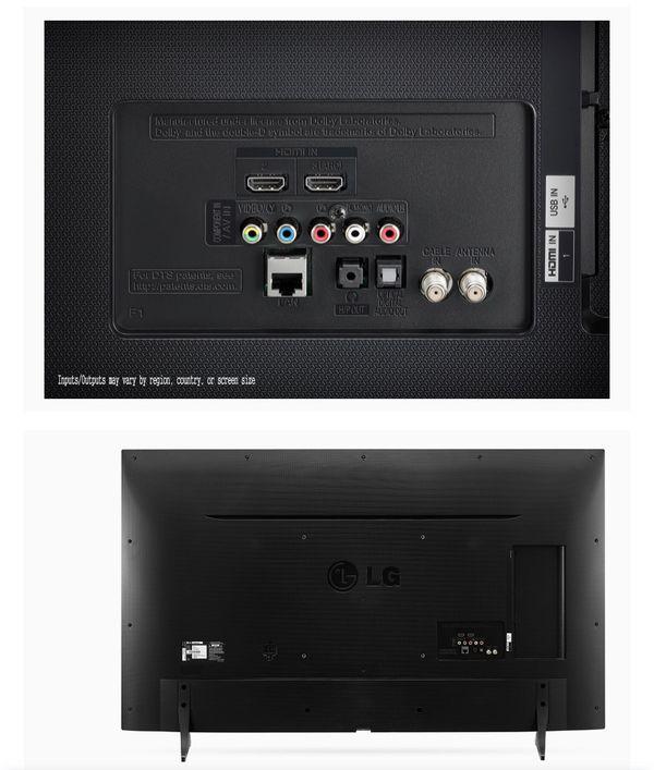 LG Electronics 55UH6150 55-inch 4K Ultra HD Smart LED TV