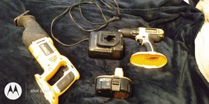 DeWalt saw and Power drill DC720 with battery pack and charger for Sale in Pompano Beach, FL