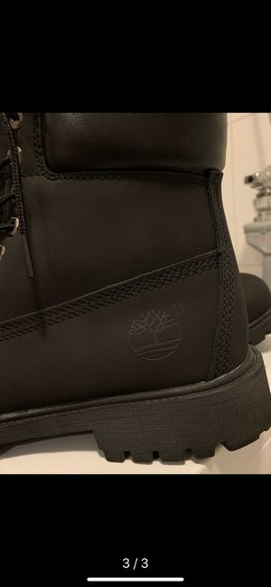 2020 timberland boots winter triple black For men and women for Sale in North Miami Beach, FL