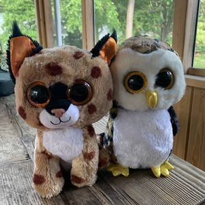 Two Ty Beanie Boos in excellent condition for Sale in Silver Spring, MD