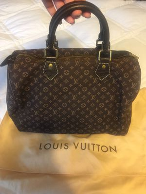 Authentic Louis Vuitton speedy linen bag for Sale in Wallingford, CT