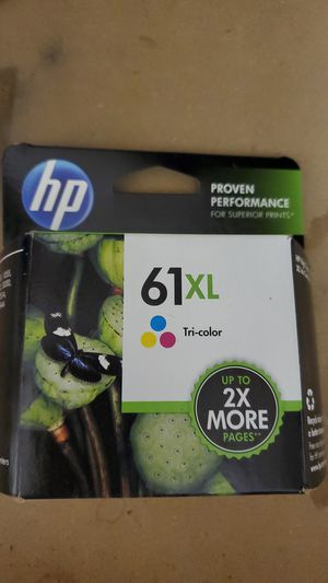 Four HP 61XL ink cartridge color for Sale in Takoma Park, MD