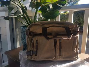 Mens Multipurpose Heavy Duty Canvas Bag for Sale in Vallejo, CA