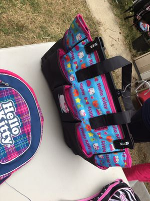 Hello kitty diaper bags for Sale in Columbus, OH