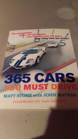 365 cars you must drive book for Sale in Appleton, WI