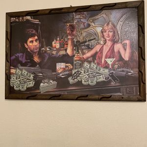 Scarface Picture Frame for Sale in Dinuba, CA