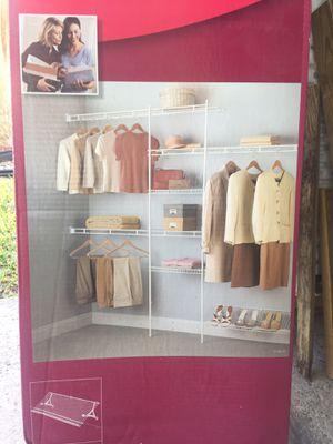 Closet maid closet organizer for Sale in Atascocita, TX
