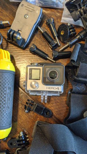 GoPro HERO4 w/ a ton of accessories for Sale in Tracy, CA