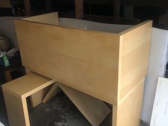 2 (Ikea?) Desks + Extension Arm on Wheels for Sale in Beverly Hills,  CA